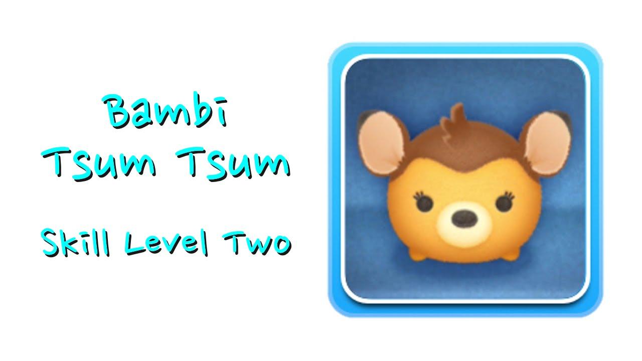 Bambi tsum tsum skill boom youtube for Tsum tsum watch