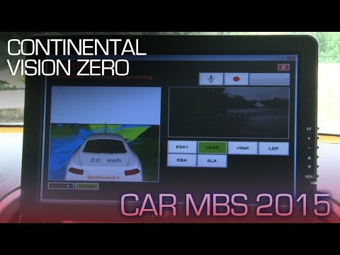 Continental Studies Your Behavior to Develop Self-Driving Cars - CAR MBS 2015