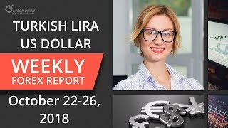 Weekly forex trading review: Turkish lira, Euro, Dollar, Yen. October 22 – 26, 2018