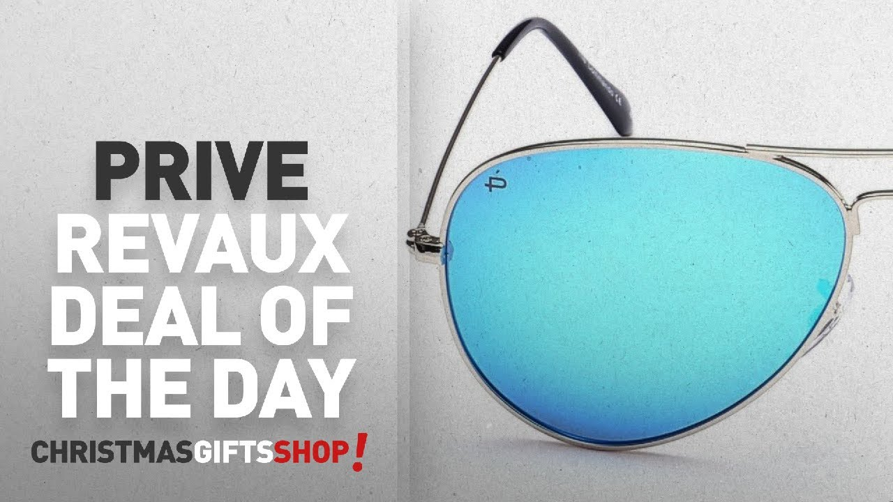 "65830f46694 Christmas Prive Revaux Deal Of The Day  PRIVÉ REVAUX ""The Commando"" Polarized  Aviator"