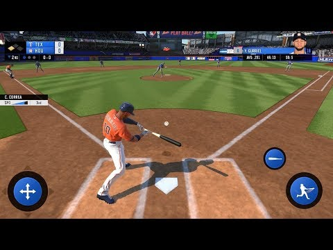 Gameplay R.B.I. Baseball 19 for Android on HTC U Ultra