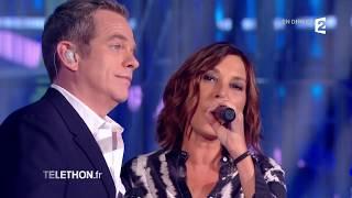 Garou et Zazie rendent hommage à Johnny Hallyday | TÉLÉTHON 2017