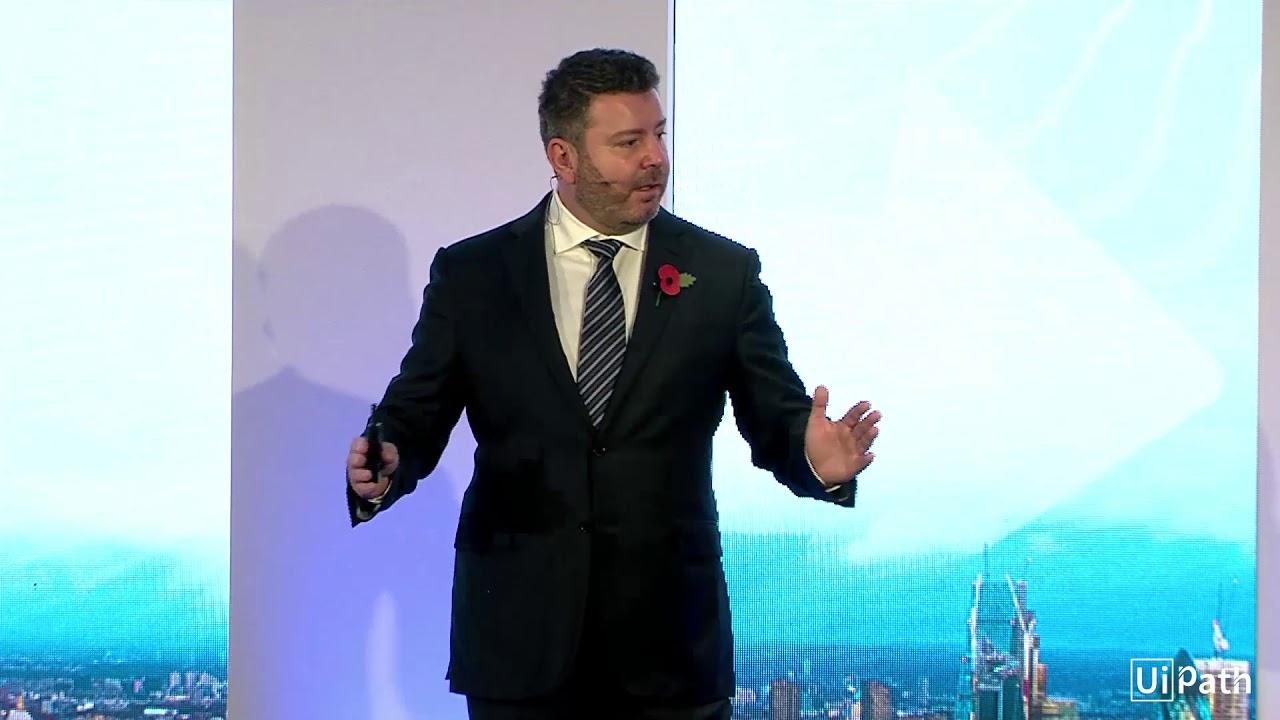 #UiPathForward EMEA: Thriving in an Automation First Mindset (Daniel Dines  keynote)