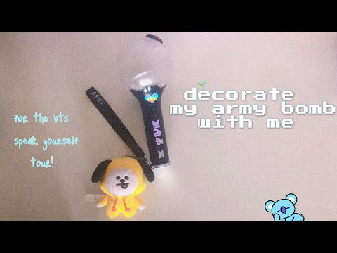 ★decorate my army bomb with me★