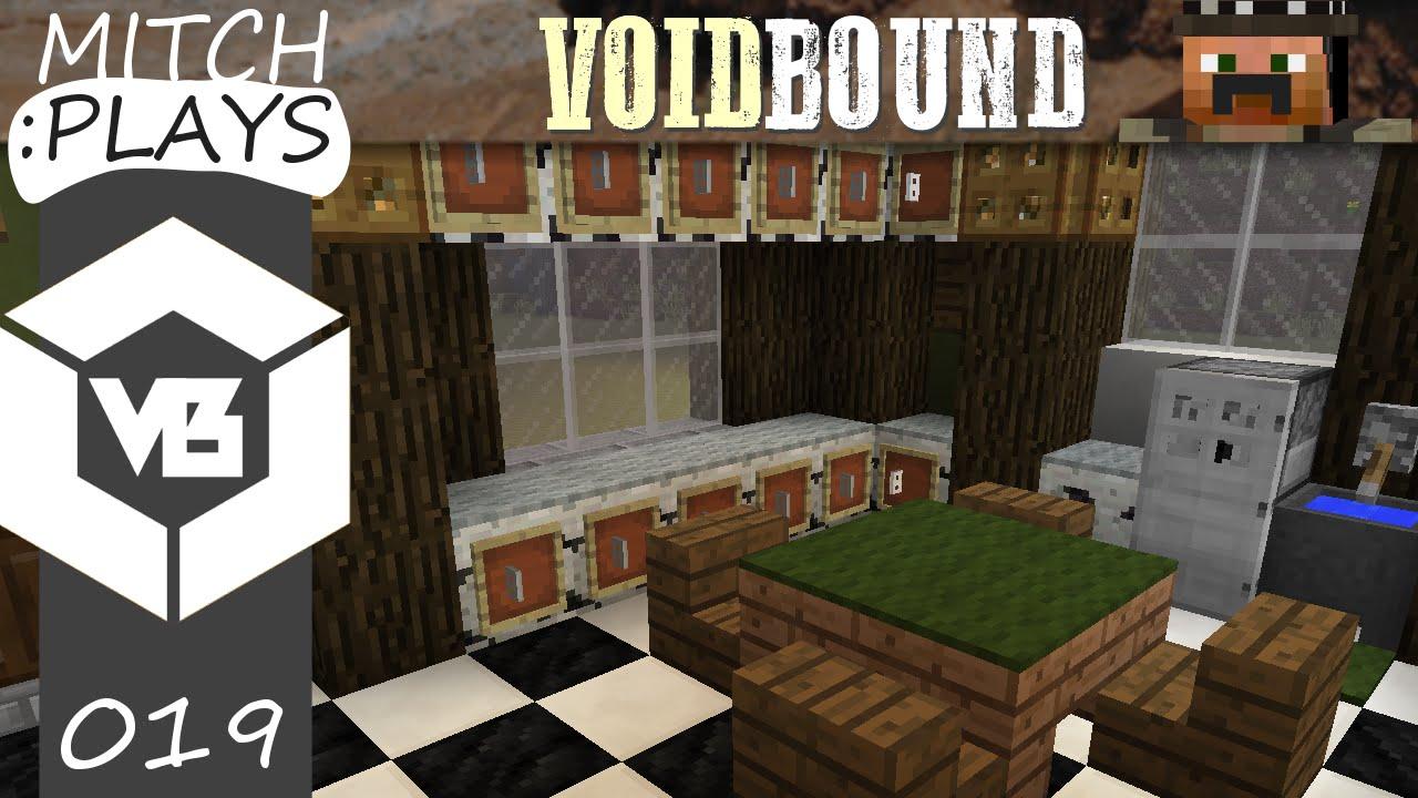 Western Kitchen Western Kitchen Minecraft Voidbound Server Ep 19 Youtube