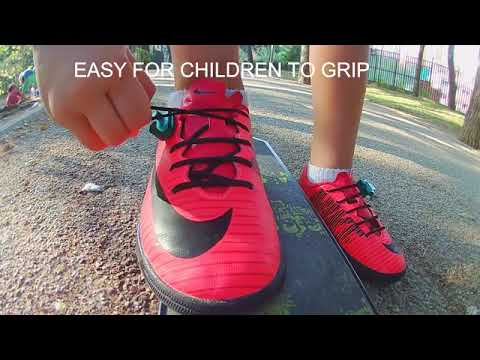 Elastic laces for Children shoes|No Tie Laces|Easy Latch lacing system for Children shoe