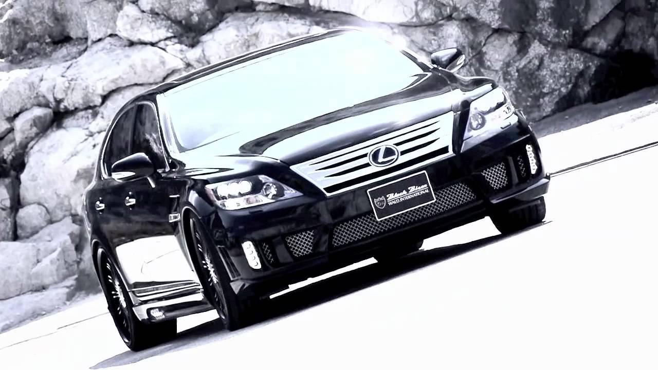 WALD Black Bison Lexus LS600hL - YouTube
