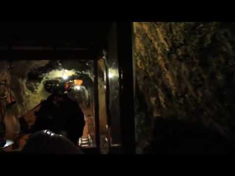 Underground Railway Tour At BC's Britannia Mine Museum