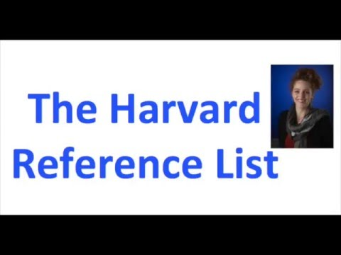 How to check your Harvard reference list before submitting your assignment