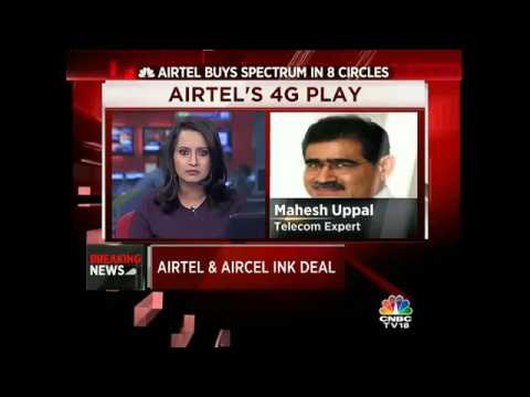 Airtel & Aircel Ink Deal: Airtel Buys Spectrum In 8 Circles