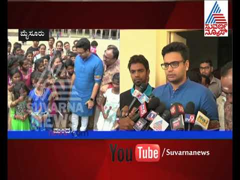 Childrens Interact With Yaduveer, Pose Questions On Palce History | Suvarna News