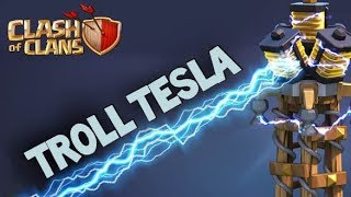 When to Use a Troll Tesla (TH9-12) | Clash of Clans