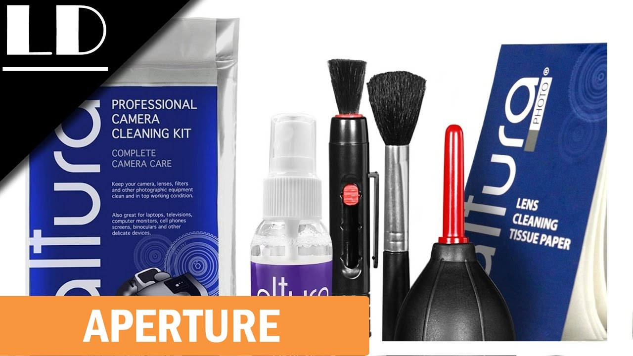 Altura Pro Camera Cleaning Kit Youtube