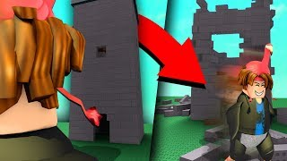 DESTROYING PEOPLE'S ROBLOX CREATIONS