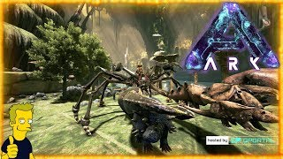 KARKINOS TAMING THE ULTIMATE GATHERING TOOL THE BEST MOUNT IN ABERRATION ARK Survival Evolved S1 E11