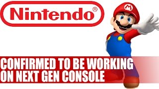 Nintendo Confirm Work On Next Gen Console With Mario Launch Game | Details