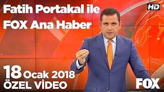 Polis müdürleri sigara yasağına uymadı! 18 Ocak 2018 Fatih Portakal ile FOX Ana Haber