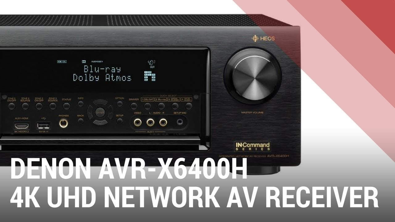 Denon AVR-X6400H 11 2 Channel Full 4K Network AV Receiver with HEOS - Quick  Review India by Ooberpad