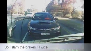 ROAD RAGE JUSTICE Subaru WRX  Crash