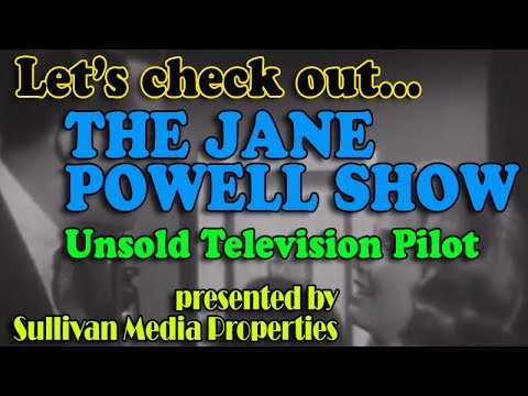 The Jane Powell Show (Unsold tv pilot) || a classic TV encore