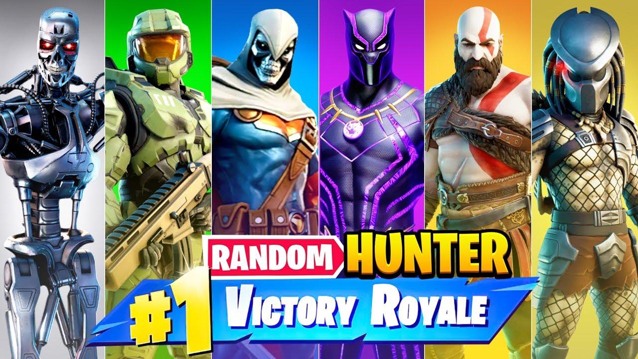 The *RANDOM* BOUNTY HUNTERS Challenge in Fortnite!