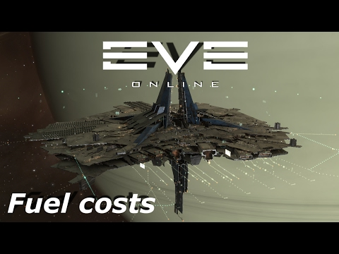 EVE Online - Structure fuel costs