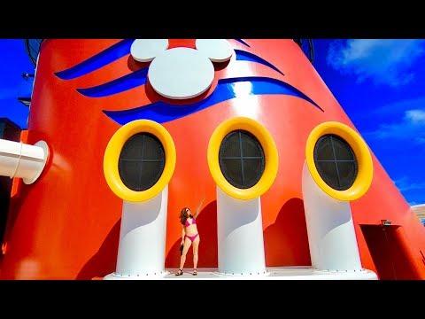 Disney Dream Tour and Review ~ Disney Cruise Line ~ Cruise Ship Tour and Review ~ Day 1