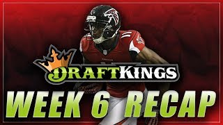 DRAFTKINGS LINEUP REVIEW & RESULTS: NFL Week 6