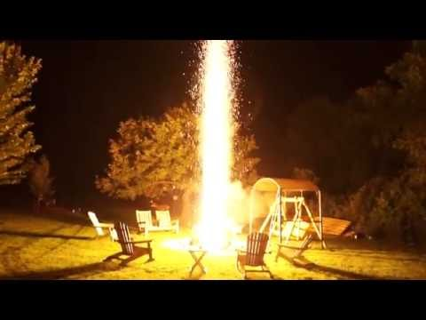 1000 sparkler rocket / bomb / torch / fountain / volcano / what ever you want to call it