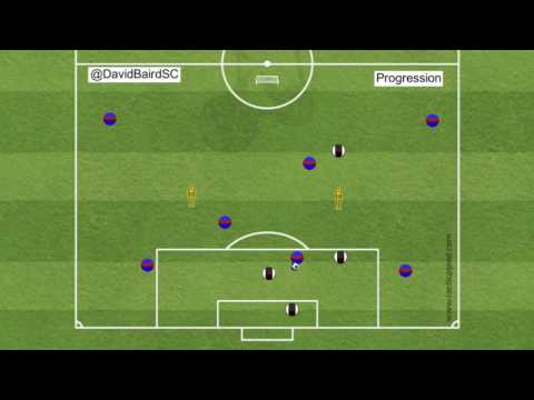 Be an observer - Cross and Finishing Training Session - PROGRESSION
