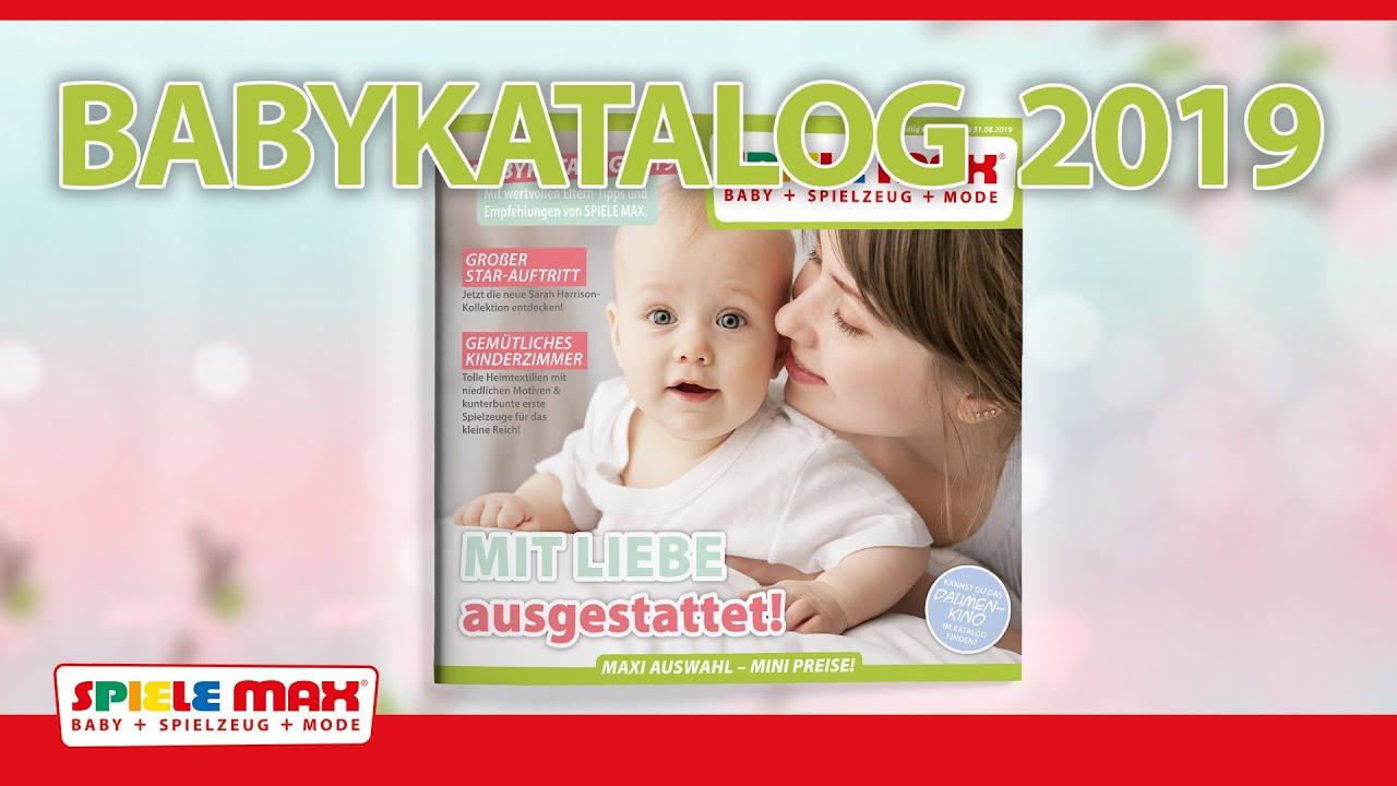 Spiele Max Babykatalog 2019 Youtube