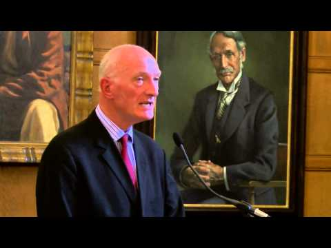 Justice Edwin Cameron delivering the Bram Fischer Memorial Lecture 2015 at Rhodes House
