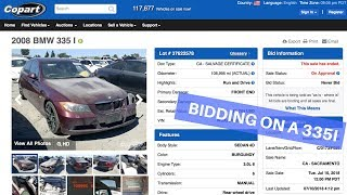 BMW 335i LIVE AUCTION! (Love you all)