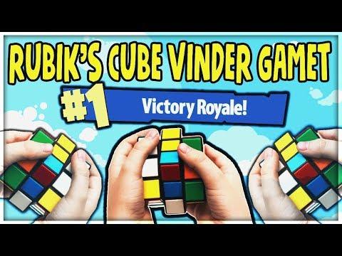 RUBIKS CUBE VINDER GAMET | Danske Fortnite Highlights #103