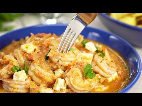 Как приготовить креветки? Попробуйте КРЕВЕТКИ САГАНАКИ. Рецепт от Всегда Вкусно!