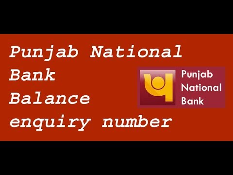 Punjab National  Bank Balance  enquiry number, Pnb Missed Call Service