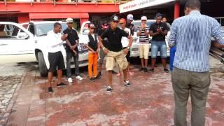 La Mafia Dembow Bailando En El Rodaje Del Video Yo Soy Un Loco De Francis Beats