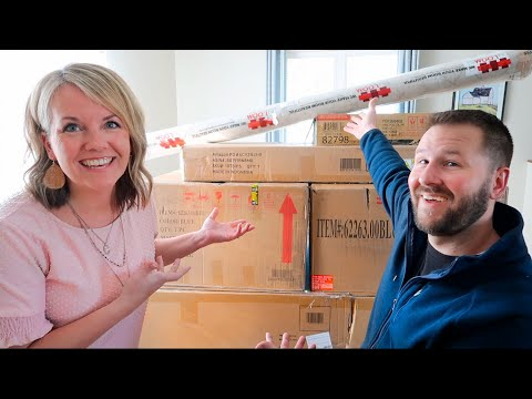 Unboxing Our Amazon Living Room!