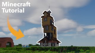 Harry Potter - How To Build The Burrow In Minecraft