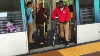 Bike Safety on Metromover