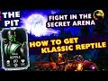 MKX Mobile 1.18. How To Get Klassic Reptile. Fight Him in Secret Arena - THE PIT!