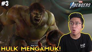 KETEMU BRUCE BANNER AKA HULK!! BERSIAP MENGUAK KEBENARAN! [Marvel's Avengers Part 3]