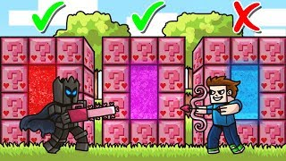 DO NOT Choose The WRONG PINK LUCKY BLOCK PORTAL in Minecraft! - Lucky Block Portal Mini-Game