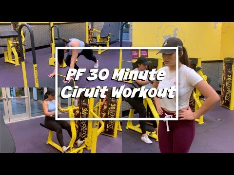 Trying Out Planet Fitness's 30 Minute Circuit Workout