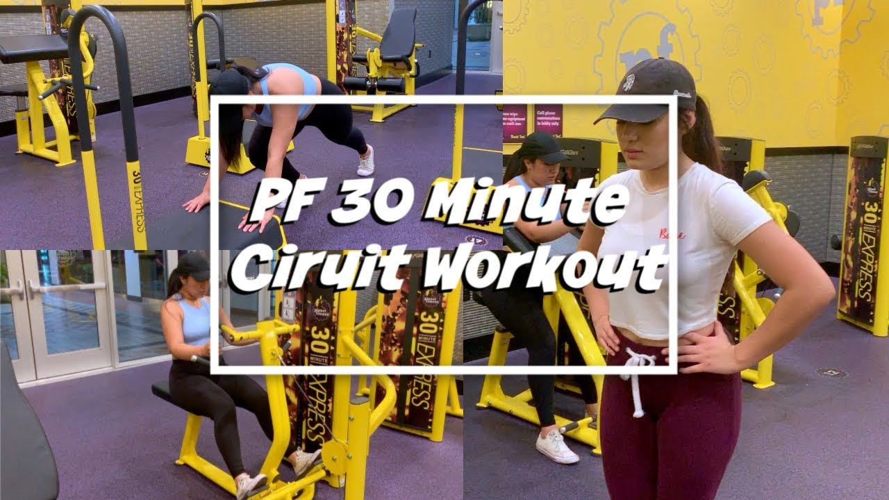 Trying Out Planet Fitness S 30 Minute Circuit Workout Youtube