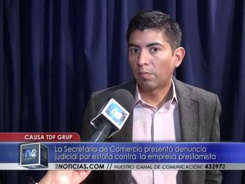 Denuncia a TDF Group | Actualidad | Fecha - TV2 Noticias