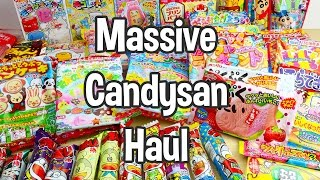 Huge Candysan Haul!  Japanese Candy and Snacks from an Online Shop with Great Prices!