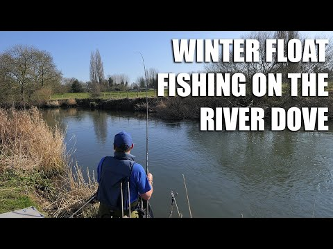 Winter Float Fishing on the River Dove