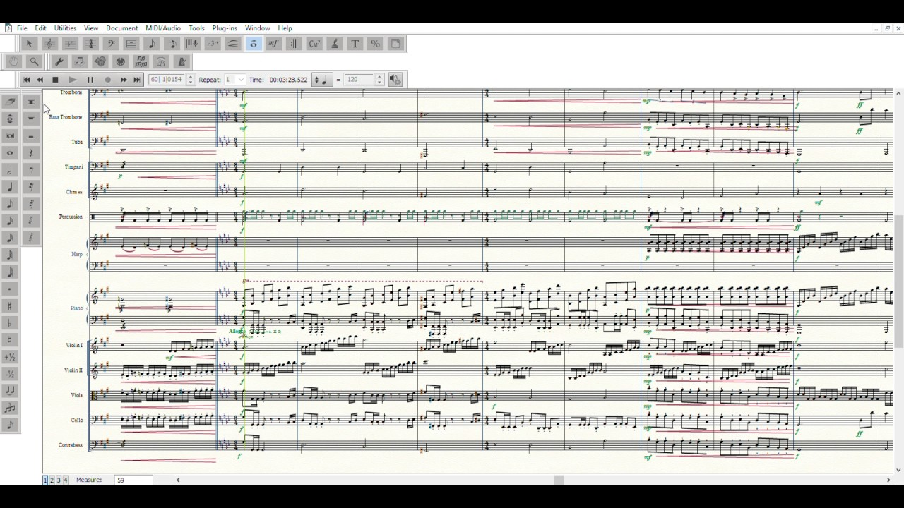 ...Unimaginable Pain (Full Orchestra; MIDI File)