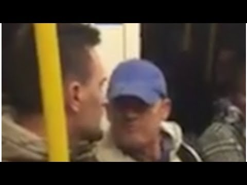 TODAY NEWS | Shocking moment a Tube passenger launches into a foul-mouthed rant about 'foreigners'